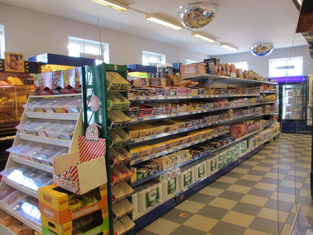 livsmedelsbutik till salu